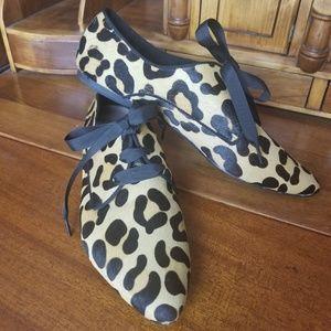Vera Pelle Cinti  Leopard print shoes